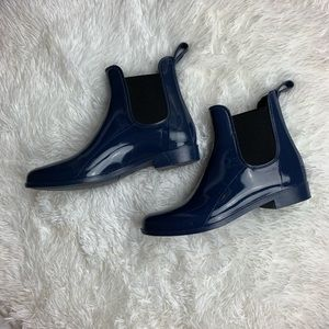 J. Crew Chelsea Rain Ankle Boot Size 9 !